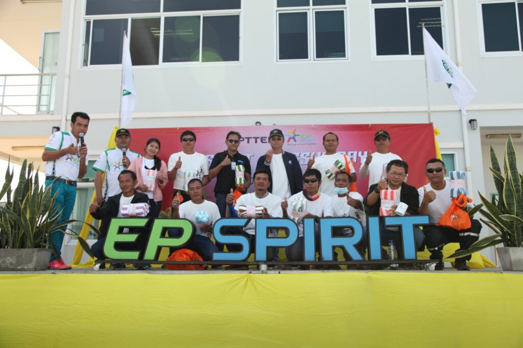 BES's safety engineers participated in activities with PTTEP SSHE Day 2020 at PTTEP SP, Khon Kaen