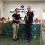 Management Meeting at PTTEP SP Sinphuhorm, Khon Kaen